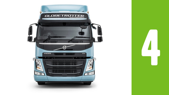 Lower your fuel costs with Volvo FM LNG