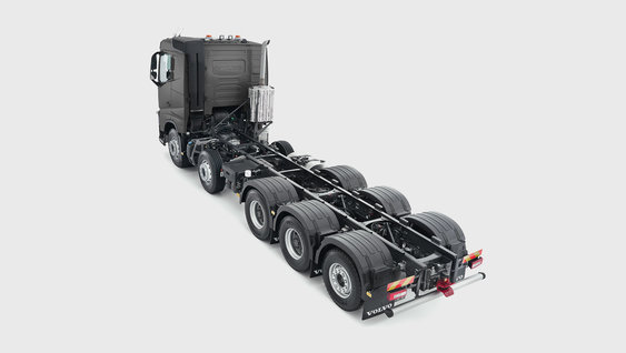 Volvo FH16 five axles