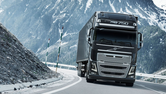 Volvo FH16 lighter chassis components