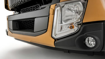 Volvo FL Underrun protection systems