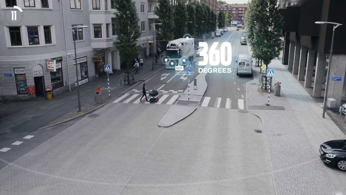 Volvo FMX active safety systems