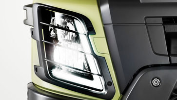 Volvo FMX lighting