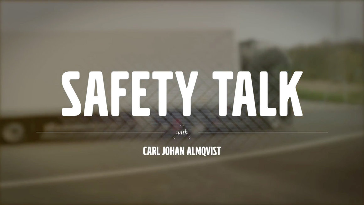 Volvo FMX safety talk