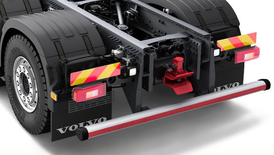 Volvo FMX side and rear underrun protection