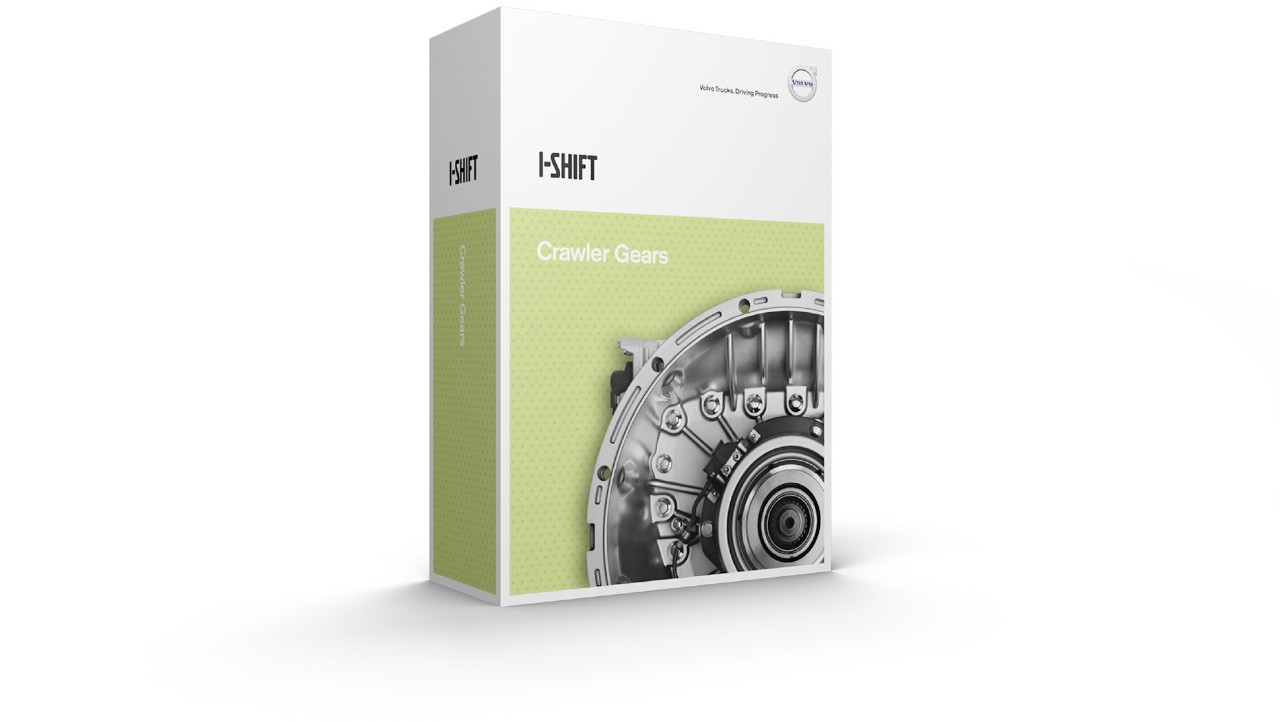 Volvo I-shift upgrade software crawler gear global