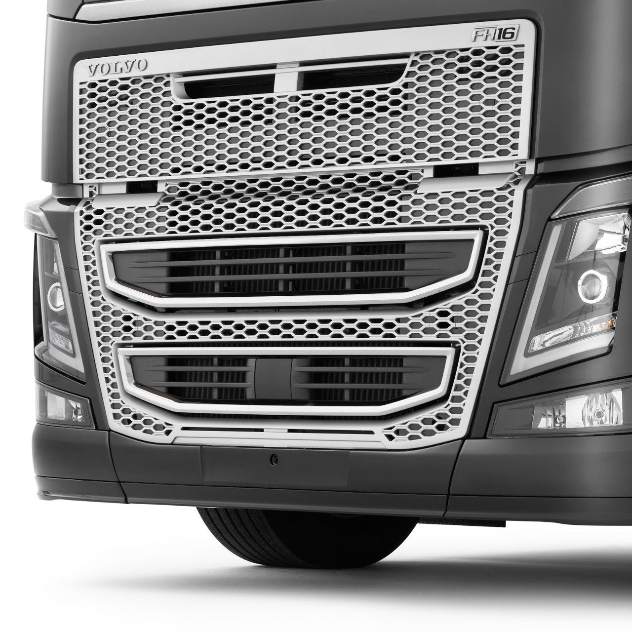 Volvo Trucks front under run protection