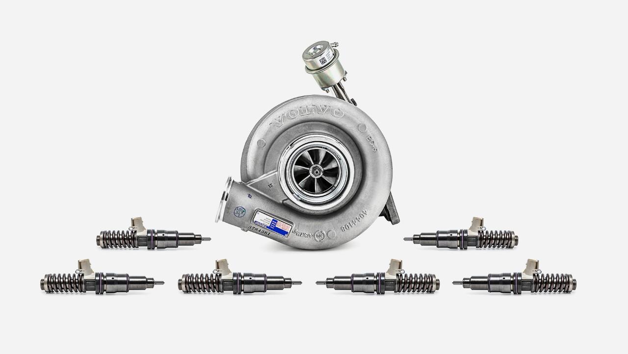 額外的 Volvo Trucks 引擎全面檢查套件